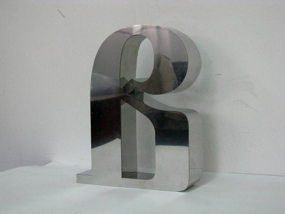 Объемные буквы из нержавеющае стали